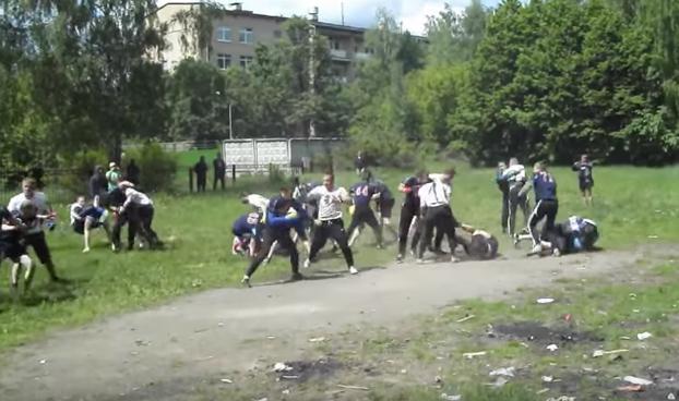 Así es como se entrenan los 'hooligans' rusos