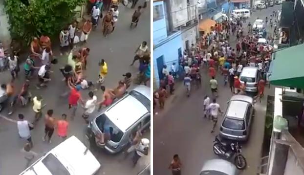 Justicia callejera para dos ladrones que intentaron cometer un robo