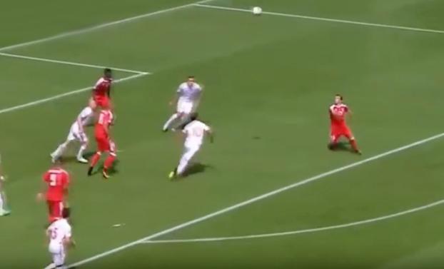 Xherdan Shaqiri: Probablemente el mejor gol de la Eurocopa 2016