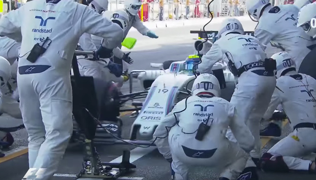 El pit stop más rápido hasta el momento en la F1: 1,92 segundos