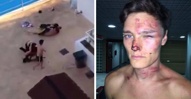 Un equipo de seguridad de un hotel de Magaluf, en Mallorca, golpea a un turista hasta dejarlo inconsciente