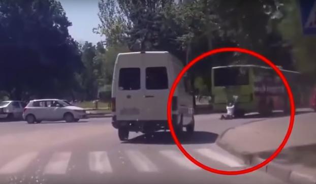 Graban a un Terminator T-1000 en Ucrania