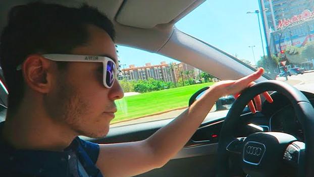El youtuber TheGref borra un vídeo en el que aparece conduciendo un Audi a 180 km/h