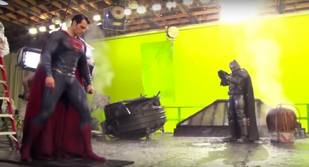 Detrás de las cámaras, sin efectos especiales: Así se ve Batman v Superman
