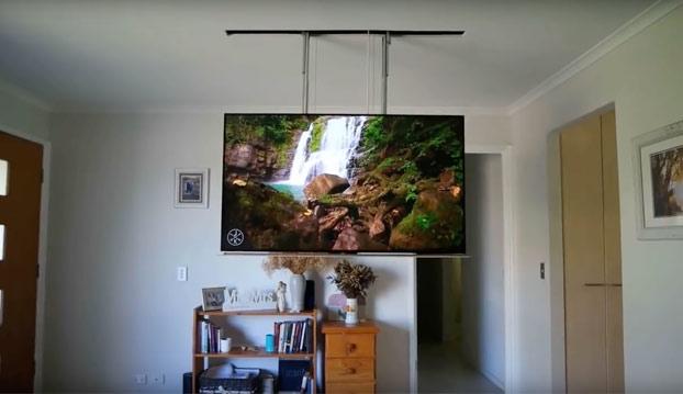 Una auténtica genialidad para guardar tu televisión en casa
