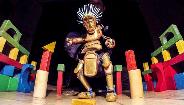 La marioneta Manu: Barnaby Dixon nos enseña como baila