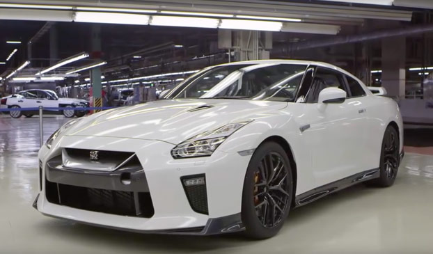 Así se fabrica un Nissan GTR Supercar paso a paso