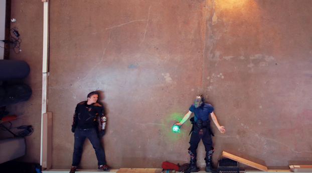 Super pelea en Stop motion