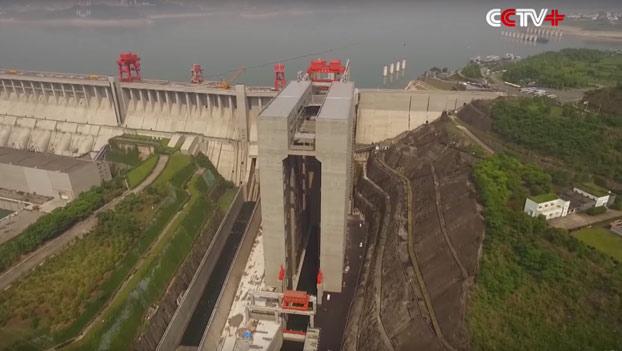 El ascensor más grande del mundo para transportar barcos
