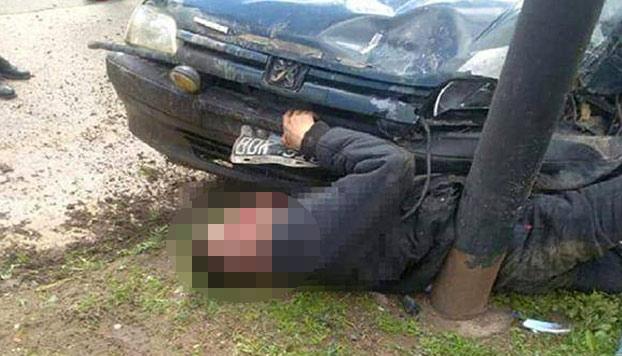 Un carnicero persigue y atropella mortalmente a un ladrón que intentó robarle