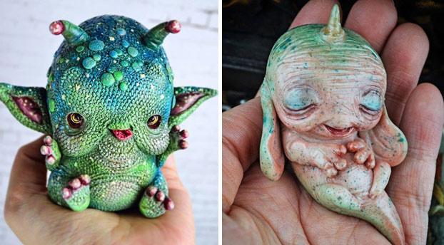 Hola, me llamo Sandra Arteaga y me dedico a fabricar extrañas criaturas