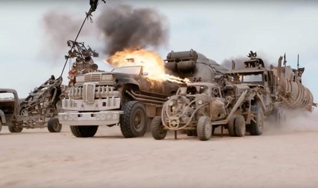 La mejor manera de apreciar la genialidad de Mad Max es ver sus escenas sin ningún tipo de CGI