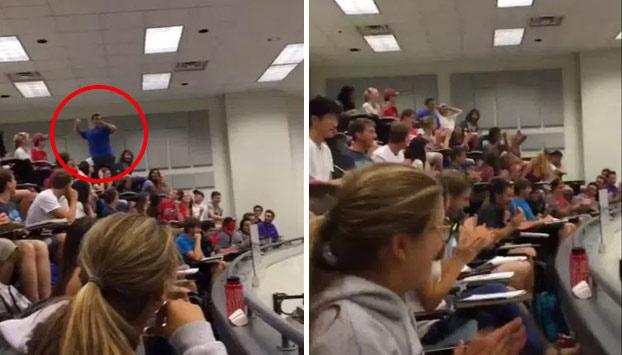 Un estudiante salva a toda la clase de un examen en un reto casi imposible