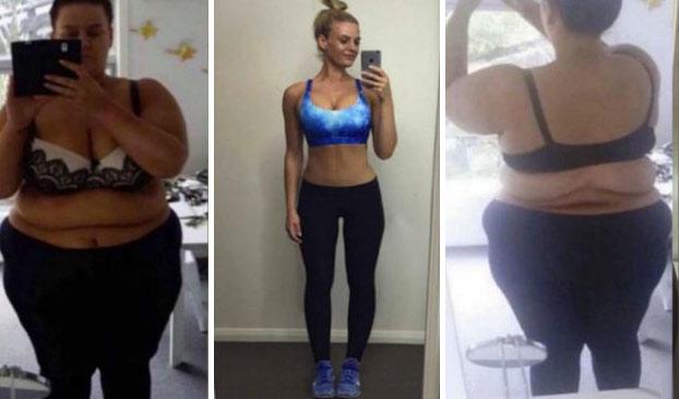 La increíble transformación de Simone Anderson: 88 kilos menos en 20 meses
