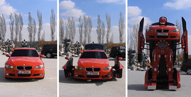 Estos ingenieros turcos han creado un transformer real con un BMW (Vídeo)