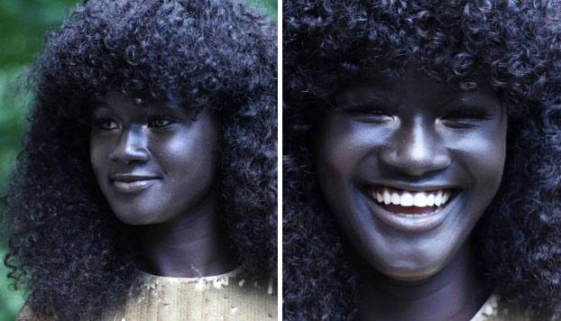 Khoudia Diop, la modelo senegalesa que triunfa en las redes por su fascinante piel negra