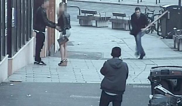 Brutal agresión de un británico a un español al grito de ''puto español, ¡habla inglés!'' (Vídeo)