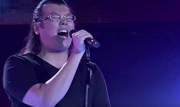 Se pone a cantar Dragon Ball Z en LA VOZ y público y jurado se vuelven locos