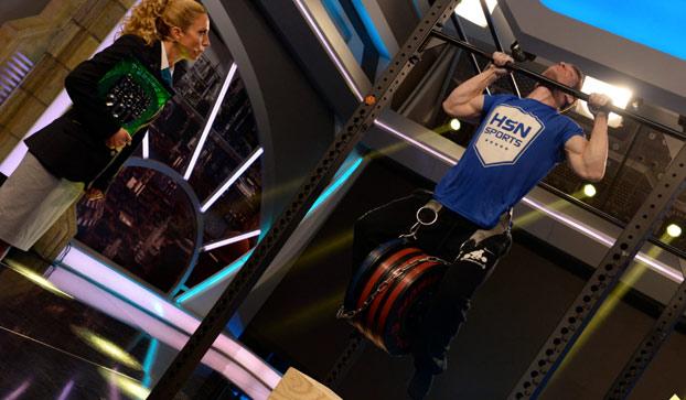 David Marchante hace la dominada más pesada del mundo: 96.85 kg
