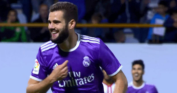 El golazo de tijera de Nacho del Real Madrid. Zidane: ''El gol de Nacho es más bonito que el mío''