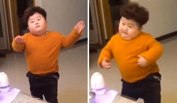 Mini Kim Jong-un, estrella de las redes sociales por este divertido baile