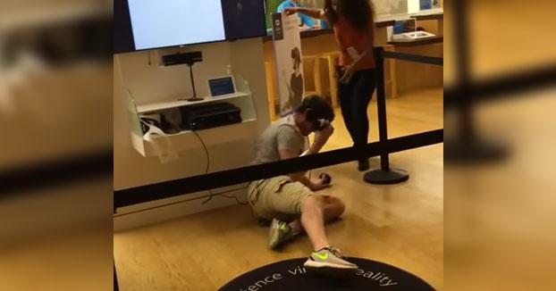 La realidad virtual es demasiado real