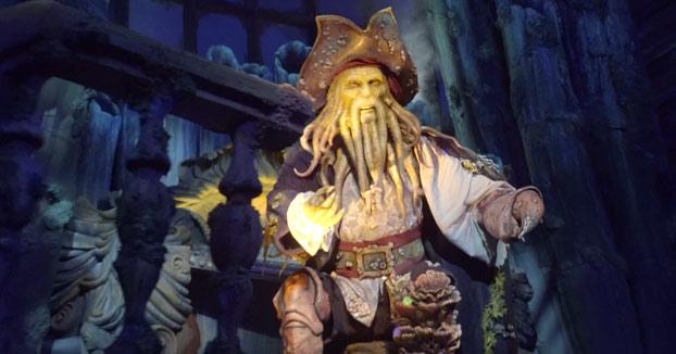 Recorrido por la atracción de Piratas del Caribe de Disneyland Shanghái