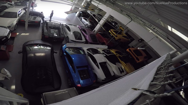 Así es cómo salvaron 38 Lamborghinis del huracán Matthew