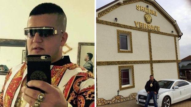 Se llama Shenki Maslani, tiene 30 años y sólo una obsesión: La marca Versace
