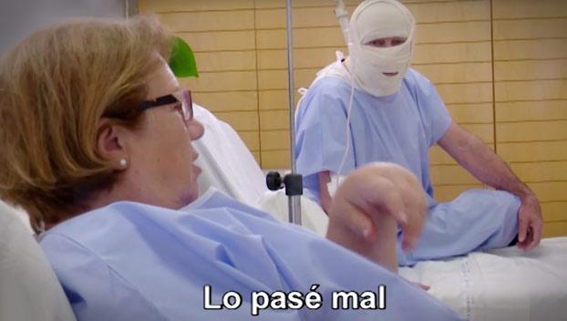Sorpresa a Isabel: Actos como este hacen falta todos los días para gente que lo está pasando mal en un hospital
