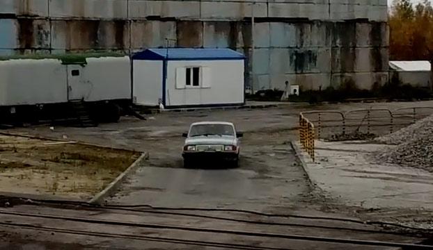 Un día cualquiera llegando al trabajo en Rusia