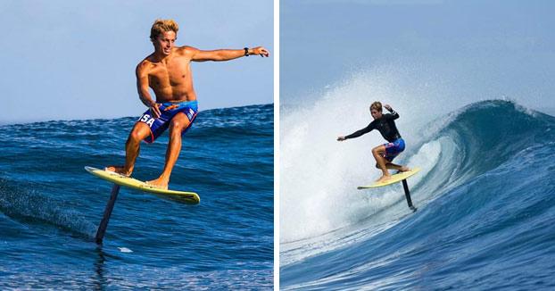 Hydrofoil Surfing, una nueva forma de surfear