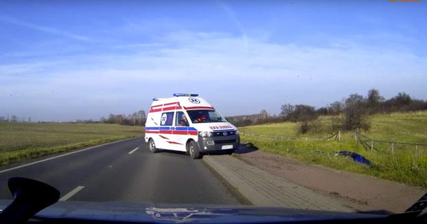 La ambulancia instantánea: Llega al accidente en menos de un segundo
