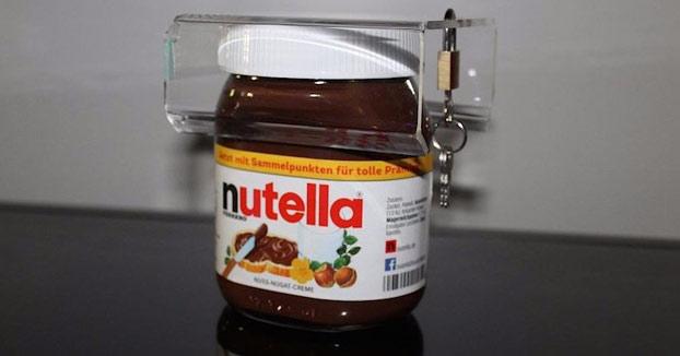 Este candado para la Nutella empezó como una broma y ahora arrasa en eBay