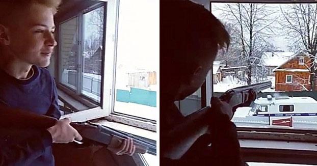 Dos jóvenes de 15 años disparan contra la policía para después acabar con sus propias vidas (Vídeo)