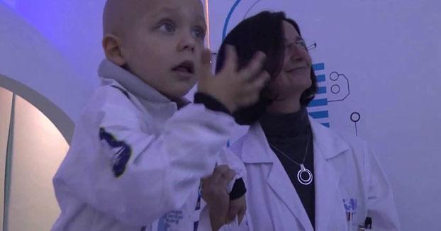 El gran proyecto del Gregorio Marañón: Todos los niños aislados vivirán en una 'Estación Lunar'