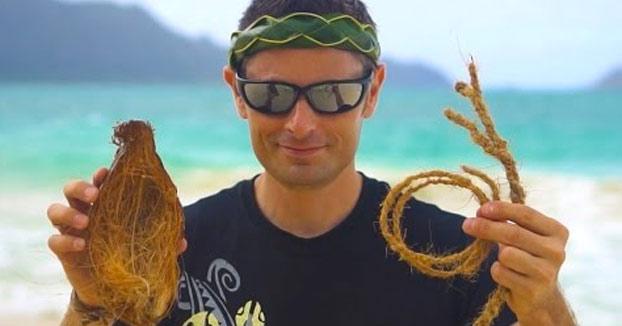 Cómo hacer una cuerda a partir de la corteza de un coco