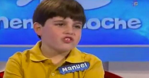 Manuel, ¿y cuál es tu talento?