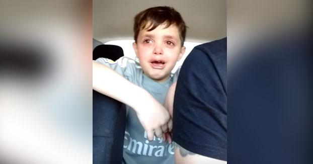 A este niño le meterieron un gol de caño y su llanto y lamento se volvió viral