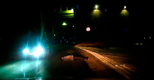 La Fuente: Meando en la carretera nivel ruso