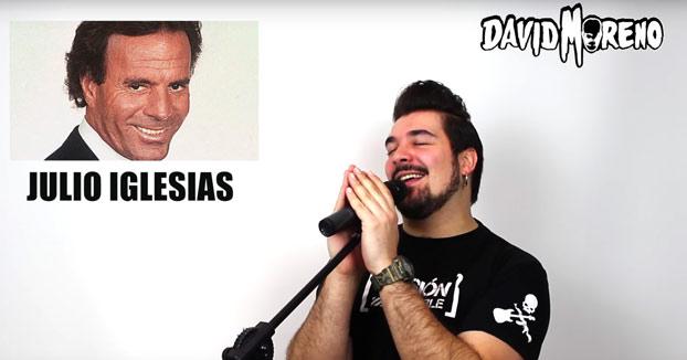 David Moreno: 32 cantantes en 1. Puto crack!