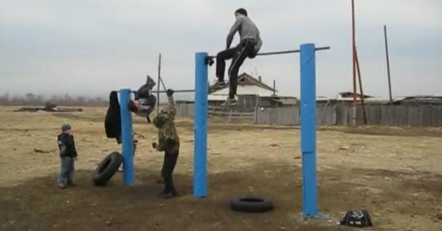 Dimitri va a tener que perfeccionar esa técnica...
