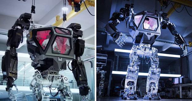 Desde Corea del Sur: Method-1, un enorme robot pilotado por humanos desde su interior