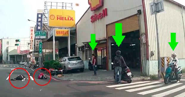 Motorista impacta de forma brutal contra una mujer que cruzaba la calle en bicicleta