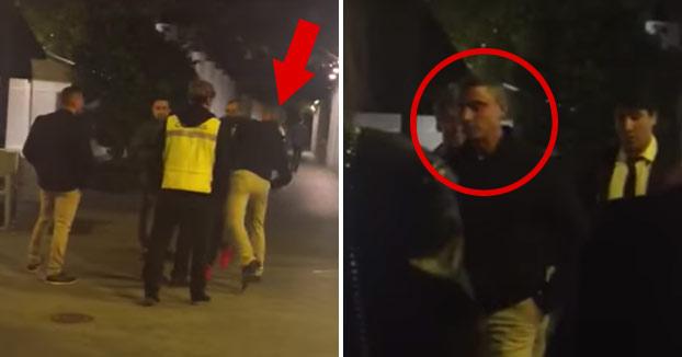 Brutal agresión del portero de un local de Murcia a un joven (Vídeo)