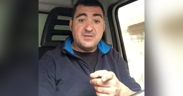 Una hostia didáctica: Este hombre opina sobre el bofetón del repartidor a Granbomba