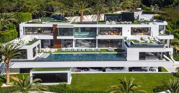 La casa más cara de los Estados Unidos ya está a la venta. IMPRESIONANTE
