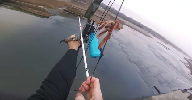 Pescando con arco