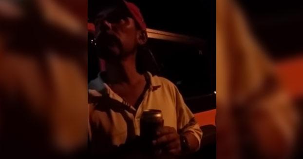 El borracho y los Reyes Magos