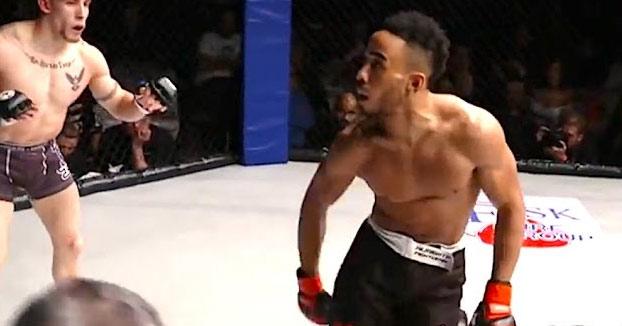 El luchador de MMA del que hablamos el otro día no paró de vacilar al rival durante todo el tiempo (Vídeo)